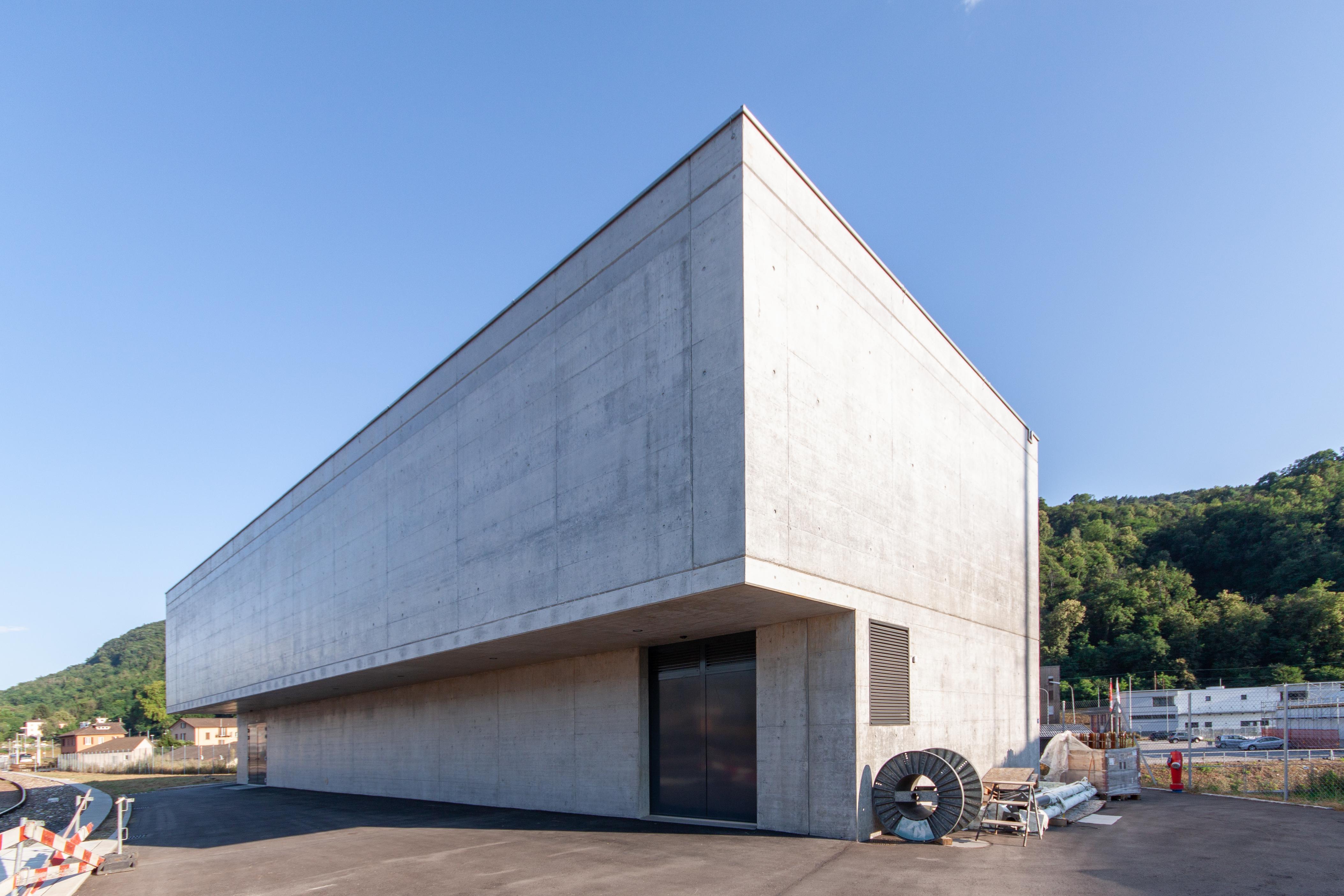 Bahntechnikgebäude 6830 Chiasso-0876