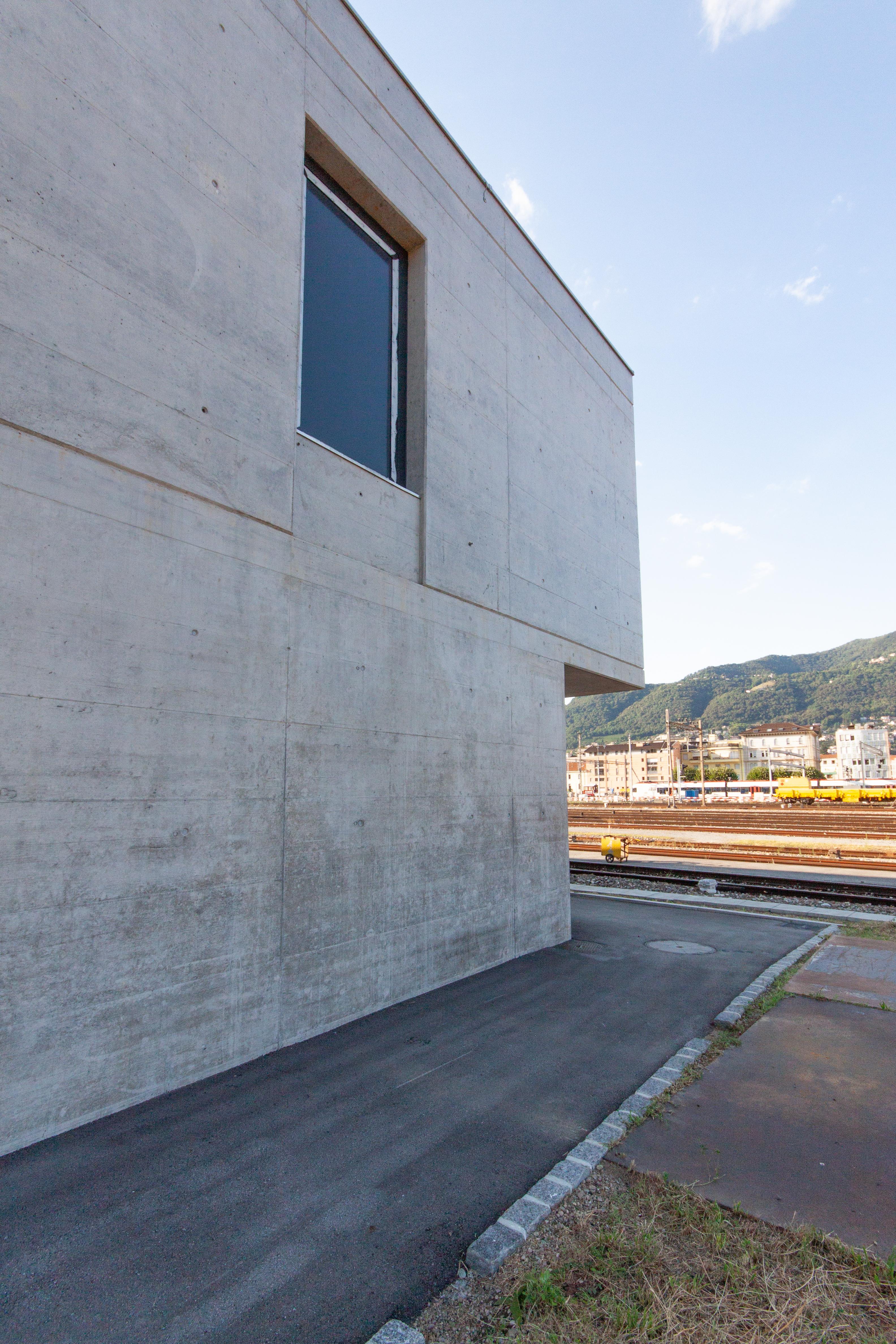 Bahntechnikgebäude 6830 Chiasso-0883
