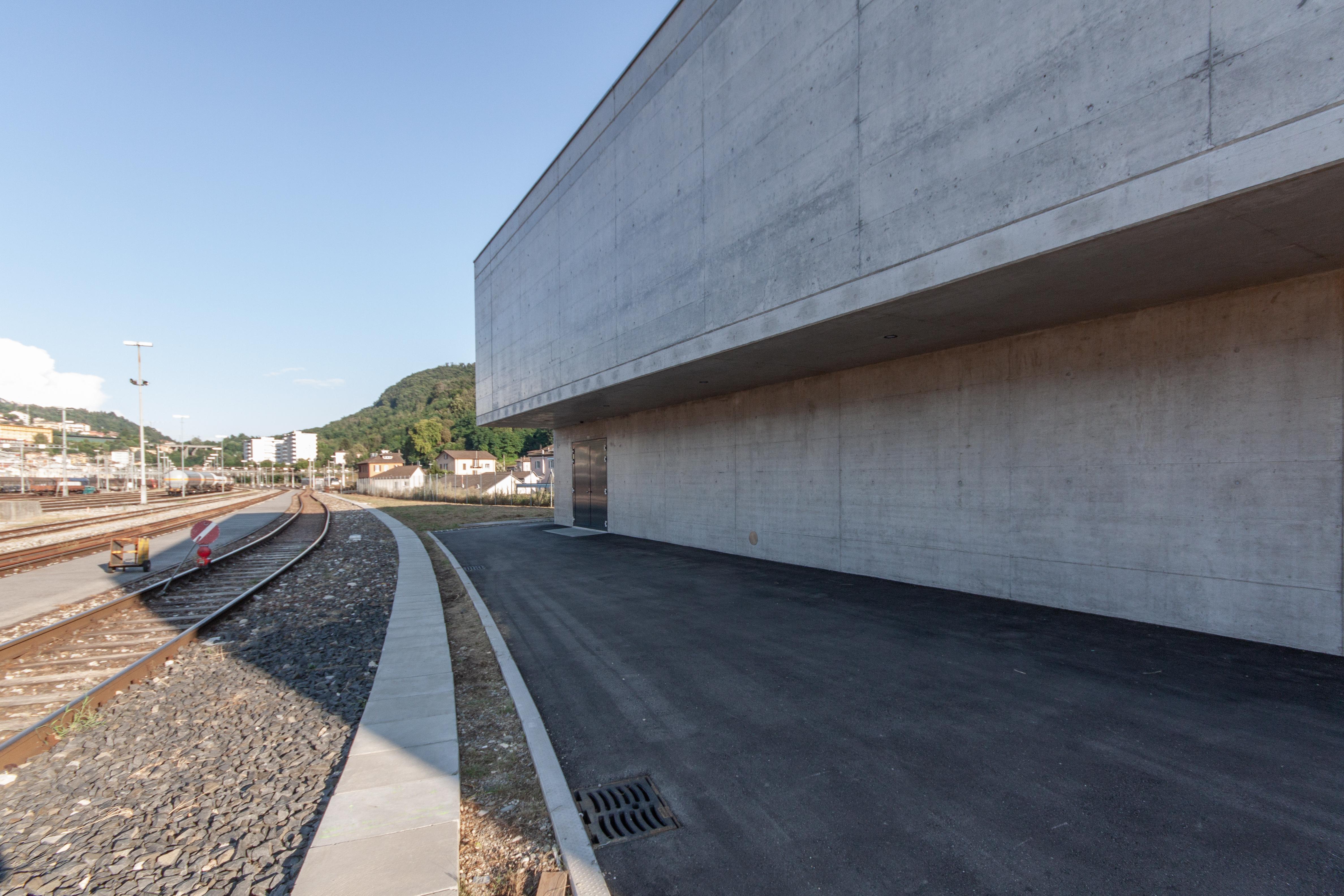 Bahntechnikgebäude 6830 Chiasso-0891